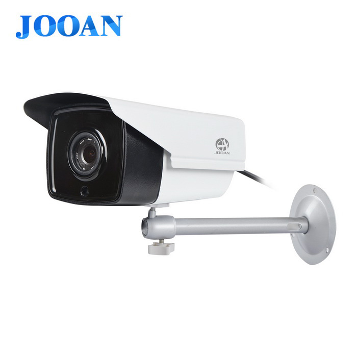 JOOAN 731NRH-P 960P HD 1.3MP ONVIF POE IP Camera Power Over Ethernet - White + Black