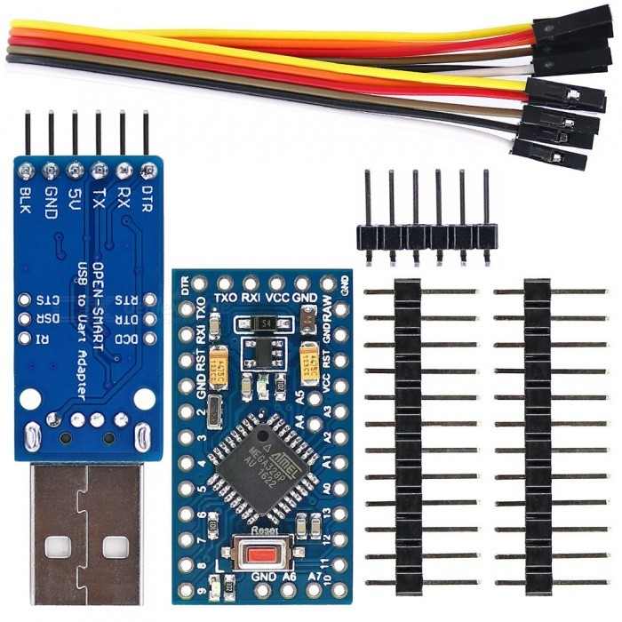 5V CH340G USB to UART TTL Serial Adapter Cable Module for Arduino Pro Mini MA