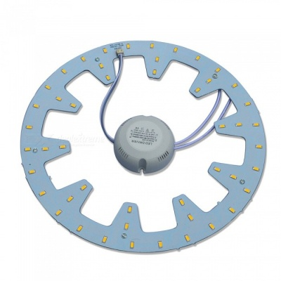 JW 24W 2300lm 3200K 48-SMD 5730 Warm White Light Source w/ Magnetic Nails for Ceiling Lamp