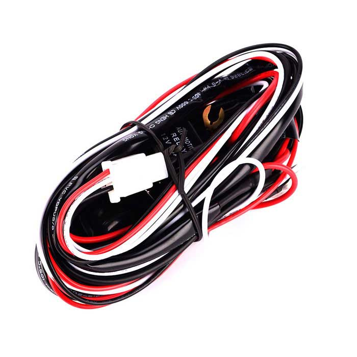 IZTOSS Off Road LED Light Bar On-Off Power Switch 40 Amp Relay Wiring on