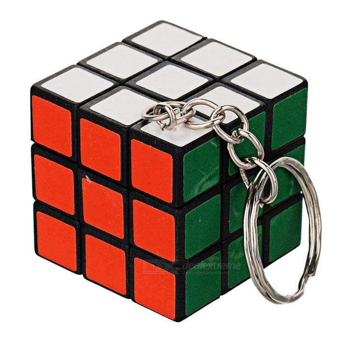 Buy Rubik Cube Keychain - Multi-Colored with Litecoins with Free Shipping on Gipsybee.com