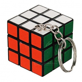 Rubik Cube Keychain - Multi-Colored