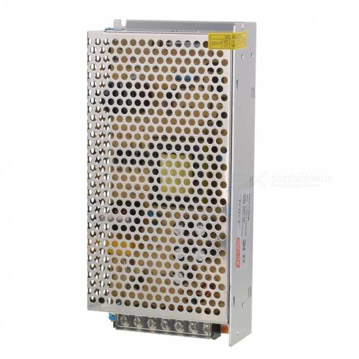 AC 110/220V to DC 12V 10A 120W LED Switching Power Supply - Silver
