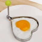 Ispessimento in acciaio inox Fried Egg Mold Suit - argento + verde % 285PCS % 29