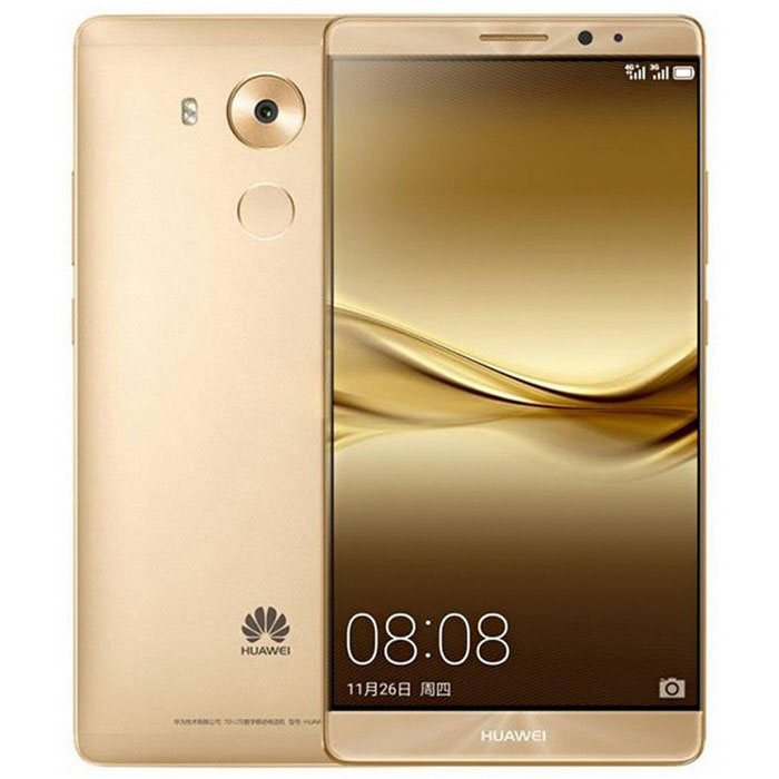 Huawei Mate 8 NXT-AL10 6'' FDD-LTE 4G Android Tablet Phone w/ 4GB RAM, 64GB ROM - Champagne Gold