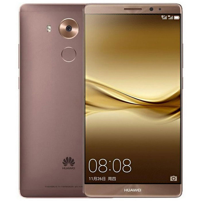 Huawei Mate 8 NXT-AL10 6'' FDD-LTE 4G Android Tablet Phone w/ 4GB RAM, 64GB ROM - Mocha Gold