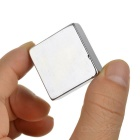 30 x 30 x 10mm NdFeB Rectangular Magnet - Silver