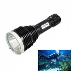 KINFIRE XML2 Diving Flashlight profondità di immersione di 120m - nero (1 * 18650)