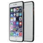 ultra-Slim Aluminum Alloy Bumper Frame Case för iPhone 6 PLUS / 6S PLUS-Svart