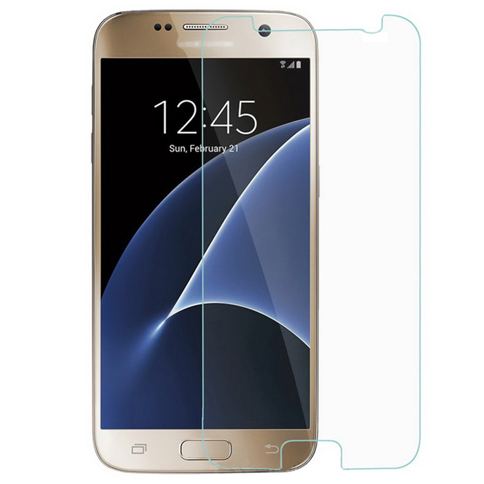 Tempered Glass Screen Protector for Samsung Galaxy S7 - TransparentScreen Protectors<br>Form  ColorTransparentScreen TypeGlossyModel-MaterialTempered Glass FilmQuantity1 DX.PCM.Model.AttributeModel.UnitCompatible ModelsSamsung Galaxy S7Packing List1 x Glass film1 x Dry cloth1 x Alcohol pad<br>