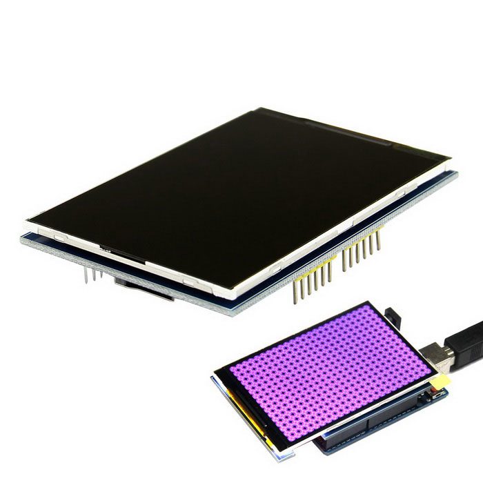 3.5 Inch TFT Color Screen Module for Arduino UNO R3 / Mega2560