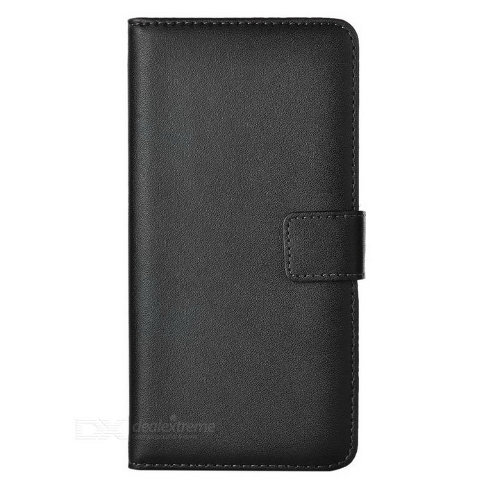 Protective Flip-Open Split Leather Full Body Case Cover for Sony Xperia M5 - BlackLeather Cases<br>Form  ColorBlackModel-MaterialSplit leatherQuantity1 DX.PCM.Model.AttributeModel.UnitShade Of ColorBlackCompatible ModelsSony Xperia M5Packing List1 x Case<br>