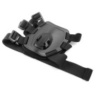 Pet Dog Harness Chest Bandoulière Ceinture de montage pour GoPro Hero + Camera - Noir