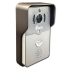 eBELL IP Wi-Fi Video zvonek w / full duplex Audio & Max.64 GB TF Card Slot - Silver Grey (UK Plug)