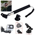 13-in-1 Camera Accessories Kit for GoPro Hero 4 / 3+ / 3 / 2 / 1 / Session - Black