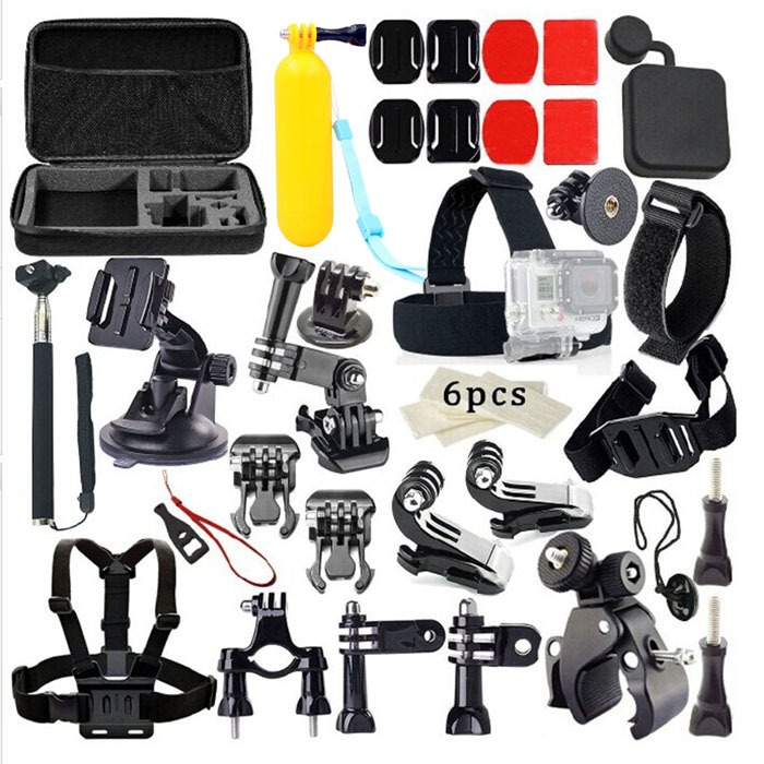 40-in-1-Monopod-Head-Chest-Strap-Accessories-Set-Kit-for-Gopro-Black