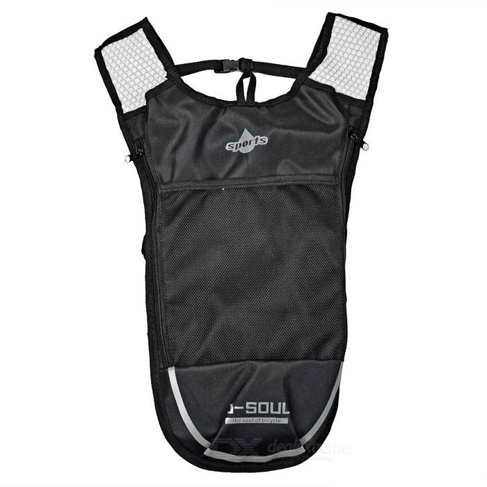 Outdoor Climbing / Cycling Shoulders Bag Backpack w/ Water Bladder Compartment - Black + Silver (5L)Bike Bags<br>Form  ColorBlack + Silver + Multi-ColoredQuantity1 DX.PCM.Model.AttributeModel.UnitMaterialUltra light nylonTypeOthers,Backpack for water bagCapacity5 DX.PCM.Model.AttributeModel.UnitWaterproofNoGenderUnisexBest UseCycling,Mountain Cycling,Recreational Cycling,Road CyclingPacking List1 x Backpack<br>