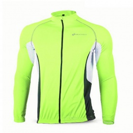 NUCKILY-MH008-Quick-drying-Cycling-Jersey-Fluorescent-Green-(L)