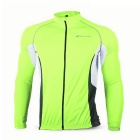 NUCKILY MH008 séchage rapide Cycling Jersey - Fluorescent Green (L)
