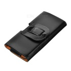Protective PU Leather Case for Sony Xperia M5 - Black