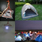 Solar Waterproof Inflatable Folding Camping Light Lamp Energy Bag