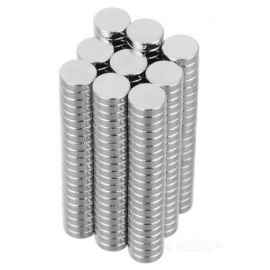 5*1.5mm Cylindrical NdFeB Magnet - Silver