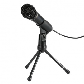 Professional-35mm-Condenser-Microphone-Sound-Studio-Podcast-w-Stand-for-Skype-Desktop-PC-Laptop