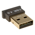 3Mbps Mini USB Bluetooth V4.0 Dongle Wireless Adapter-Musta