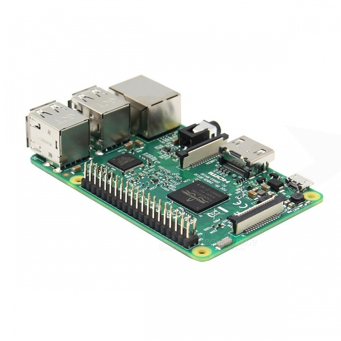 Raspberry Pi 3 Model B Cortex-A53 Quad-Core Board w/ 1GB RAM - Grass Green