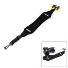 CADEN Widened Thickened Shock Absorption Burden-Reducing Shoulder Strap for Micro SLR - Black