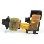 Headphone Audio Jack Headset Flex Cable for Sony Xperia Z2 - Bronze + Brown