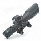 Professional Laser Sight Rifle Scope w/ Gun Mount - Black (2.5~10x40)