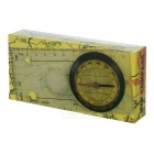 Outdoor Multifunctional Maps Ruler / Compass - Transparent + Black + Multicolor