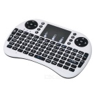 2.4G Mini USB Wireless Version Keyboard Air Mouse - Black + White