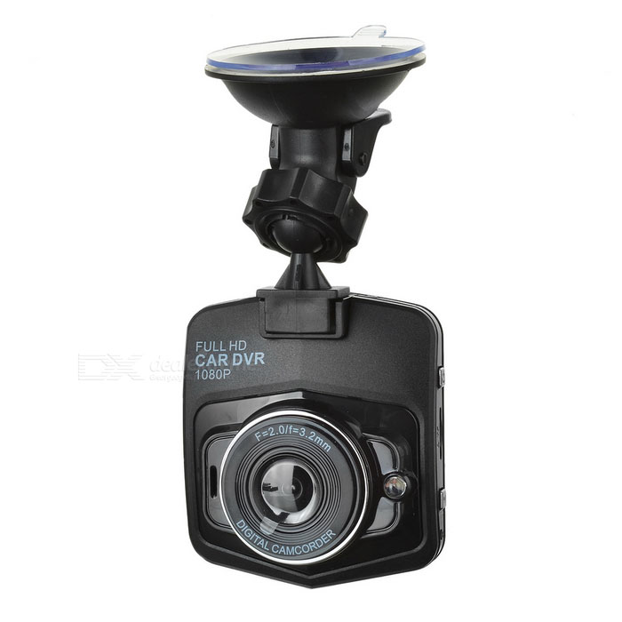 "2.3"" LCD CMOS 170' Wide-Angle Car DVR Camcorder - Black"