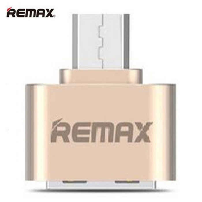 REMAX Micro USB OTG Plug for Android Mobile to Extend Connect Mouse Keyboard - Champagne GoldAdapters &amp; Converters<br>Form ColorChampagne GoldMaterialAluminum alloyQuantity1 DX.PCM.Model.AttributeModel.UnitCompatible ModelsSamsung S4 / S5 / S6 / P7500, XIAOMI seriesMeizu series, SONY seriessuch as Micro USB mobile phone all can use.Main FunctionsConnect mobile phone, tablet, U disk, camera, mouse and other connections and transfer functionTransmission Rate480MbpsConnectorMicro USBCable Length0 DX.PCM.Model.AttributeModel.UnitCertificationCE FCCPacking List1 x Micro USB OTG Plug<br>