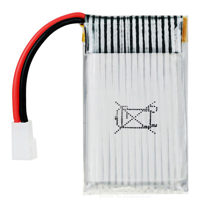 Buy SYMA 3.7V 500mAh Li-ion Battery for SYMA X5C / X5SC / X5SW - Silver with Litecoins with Free Shipping on Gipsybee.com
