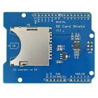SD / TF Card Shield Slot Read / Write Expansion Board Module - Blue