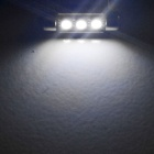 YouOKLight Festoon 36mm 1W LED Car Lamps - Silver + Yellow (12V/10PCS)