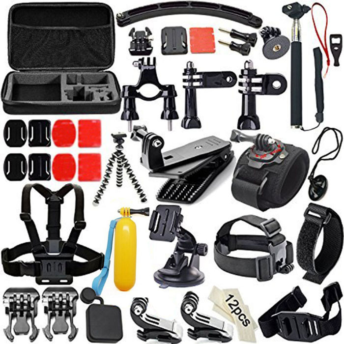 50-in-1-Professional-Kit-Accessories-Bundle-for-Gopro-HD-Hero-Black