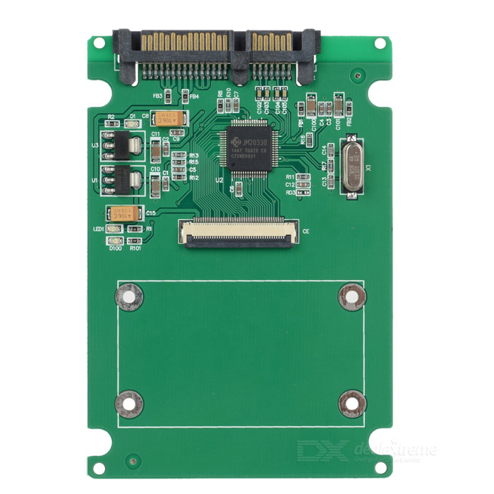CE to SATA Adapter - GreenForm  ColorGreenQuantity1 DX.PCM.Model.AttributeModel.UnitMaterialPCPacking List1 x Adapter<br>