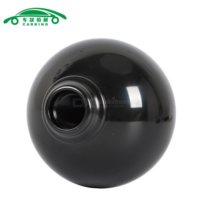 Black Ball Type Manual Car Gear Shift Knob Stick Shifter - BlackOther Interior<br>Form  ColorBlackModelN/AQuantity1 DX.PCM.Model.AttributeModel.UnitMaterialABS , Zinc alloyPacking List1 x Shift Knob 3 x Threaded Adapters<br>