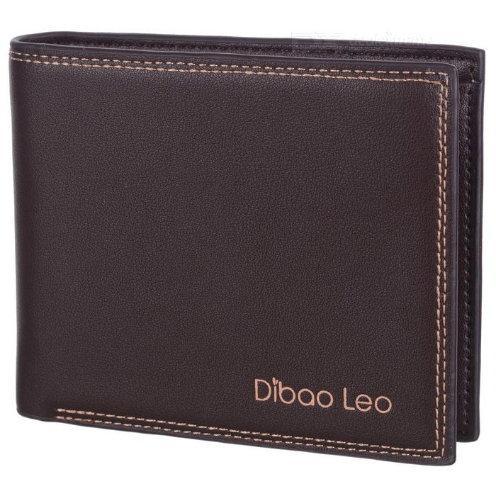 DBLO Stylish Money Wallet Purse for Men, Students - Coffee