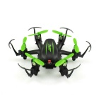 JJRC H20C Mini 2.4G 6-Axis Gyro 4CH Drone w / 2.0MP 3D eversión - Verde