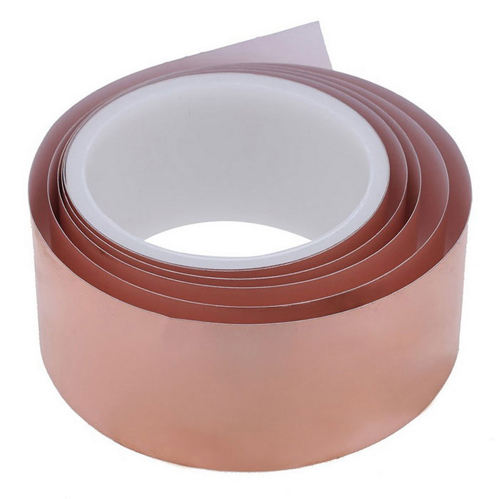 50mm x 2m EMI Shielding One Side Copper Foil Tape - Rose Gold