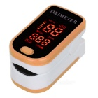 13-LED-Fingertip-Pulse-Oximeter-Yellow-(2*AAA)