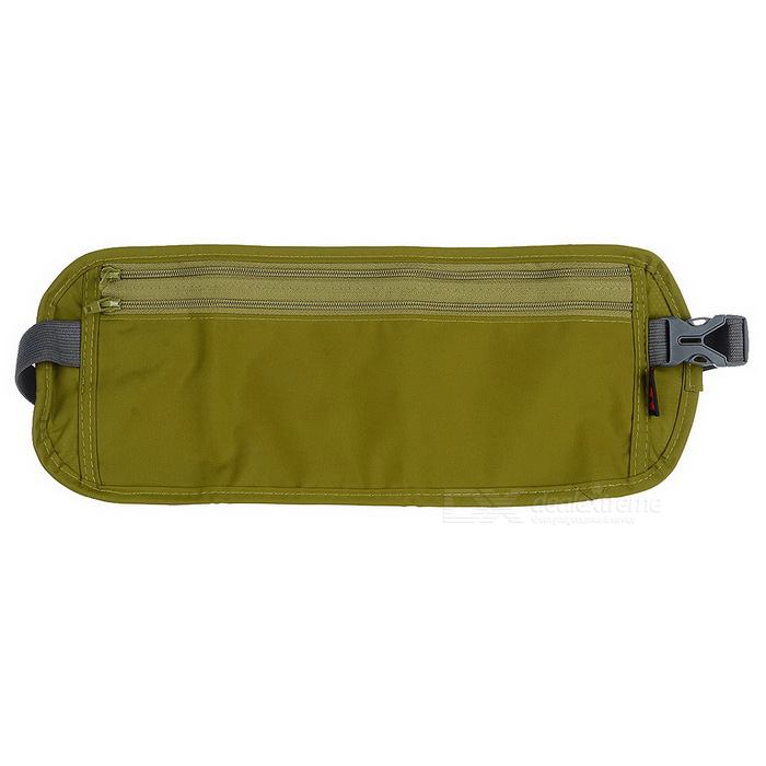 NatureHike Close-Fitting Anti-Theft Secure Waist Bag - Army Green