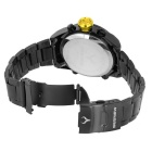 BESNEW BN-1531 Men's LED Analog Digital Sports Watch - Black + Yellow