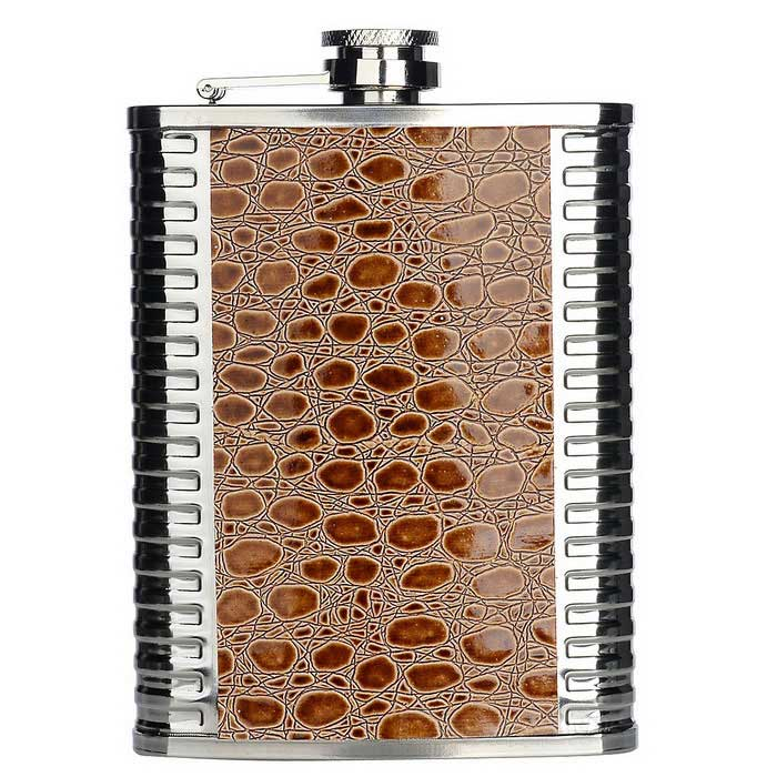 AoTu Outdoor Portable Stainless Steel Hip Flask (8oz)