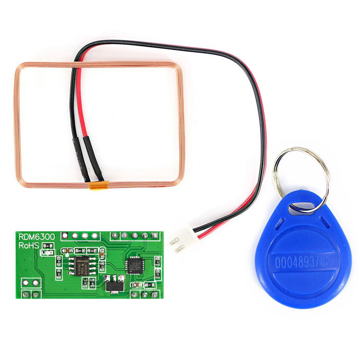 Buy 125KHz Serial UART RF ID Card Reader for Arduino - Green + Blue with Litecoins with Free Shipping on Gipsybee.com